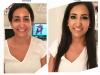 Muse Studios Wedding Bride Hair Makeup Artist Washington DC Virginia Maryland Before and After - 3